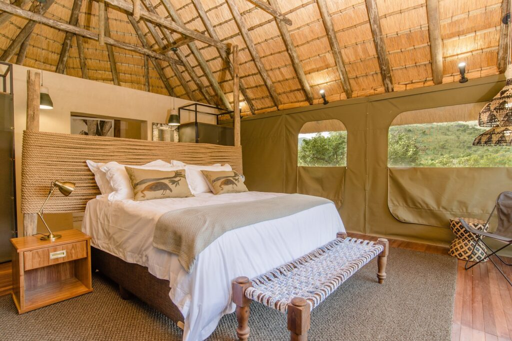 Humala River Lodge, Luxury Tent, double bed